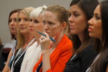 women-at-a-conference
